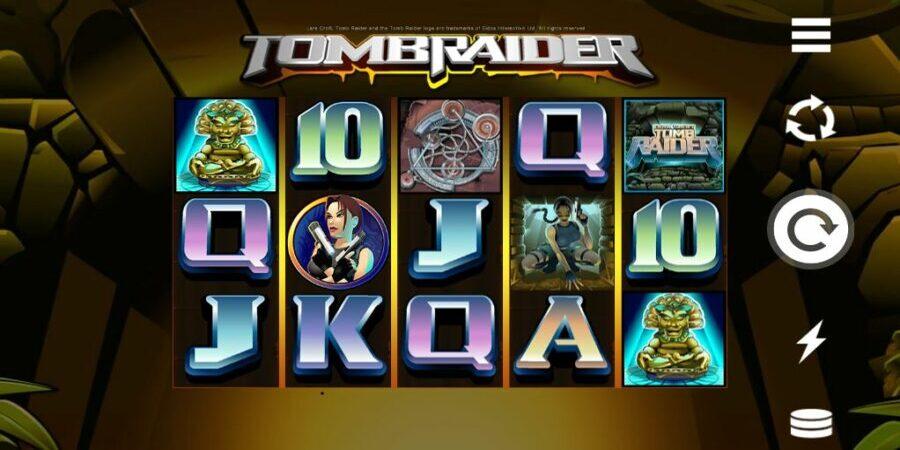 Tomb Raider low variance slot