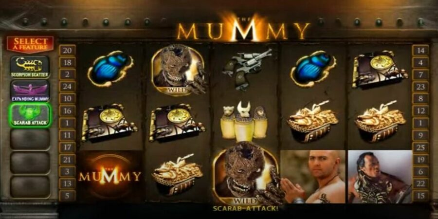 the mummy low variance slot