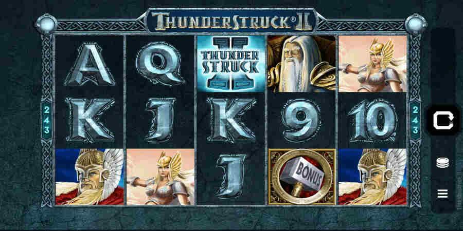 Thunderstruck 2 low variance slot