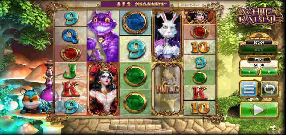 White Rabbit Megaways high rtp slot game