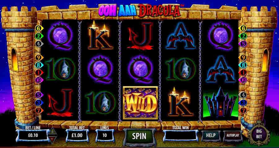 Ooh Aah Dracula slot game