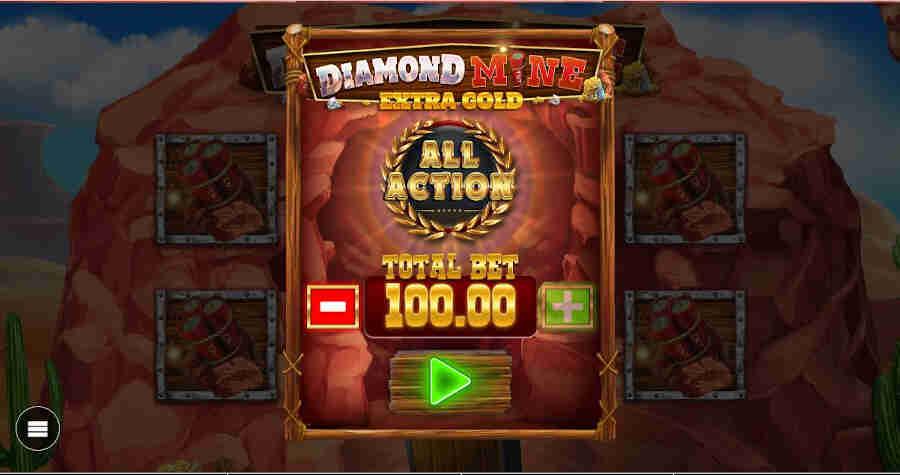 Diamond Mine All Action Megaways slot