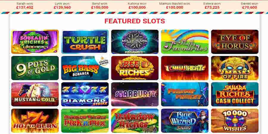 Great Britain Casino slots