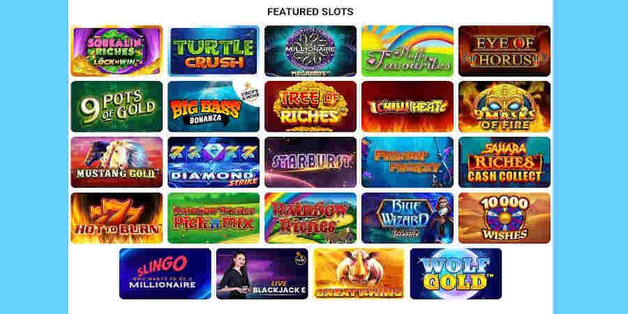 Online casino london slots games