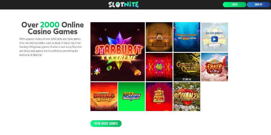 Slotnite Casino Slot Games