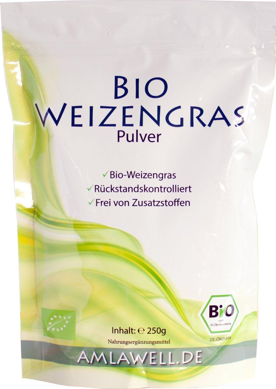 Slow Juicer Bio Weizengraspulver von Amlawell.de