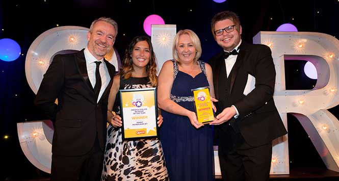 SLR Rewards 2018 Fresh and Chilled Retailer of the Year