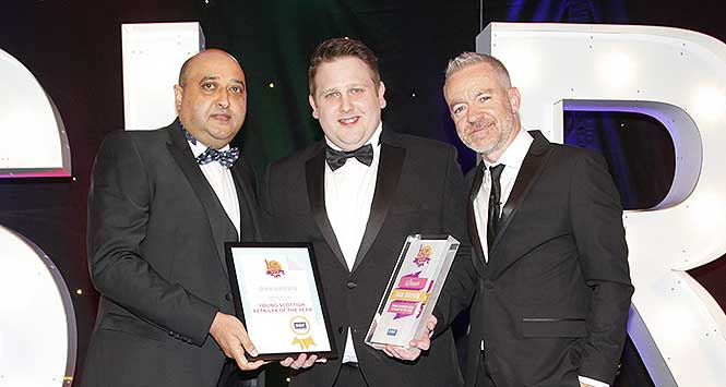 Young Scottish Retailer of the Year Dan Brown