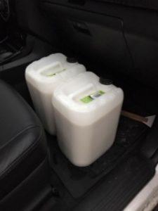 20 liter melk rett fra kua