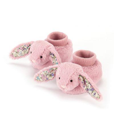 Babytofflor rosa kanin