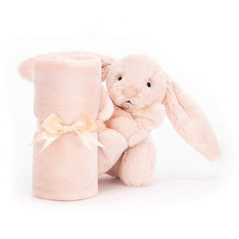 rosa kanin snuttefilt