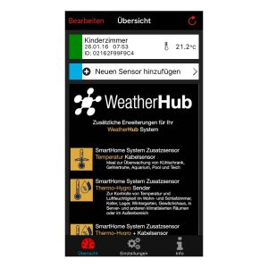 Weatherhub smarthome