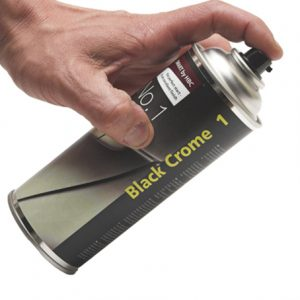 Chrome på spraydåse