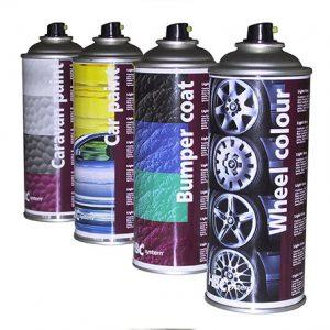Fælge maling efter farvekode på spraydåse