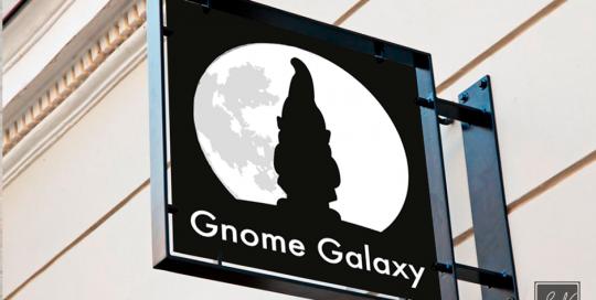 Gnome Galaxy Logo SN-mediegrafiker