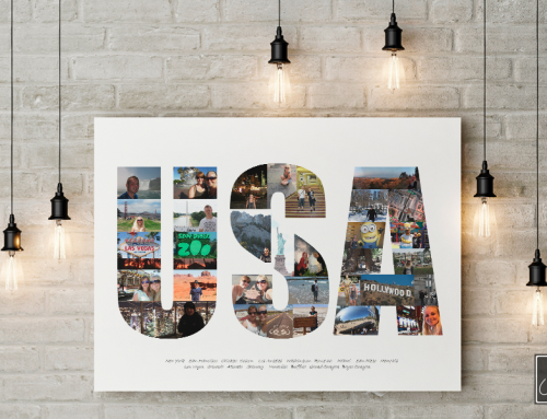 USA plakat