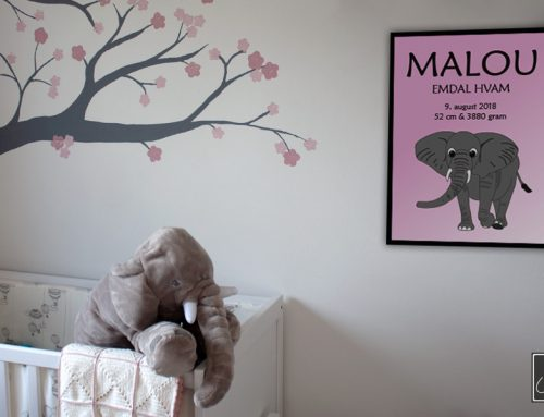 Elefant plakat