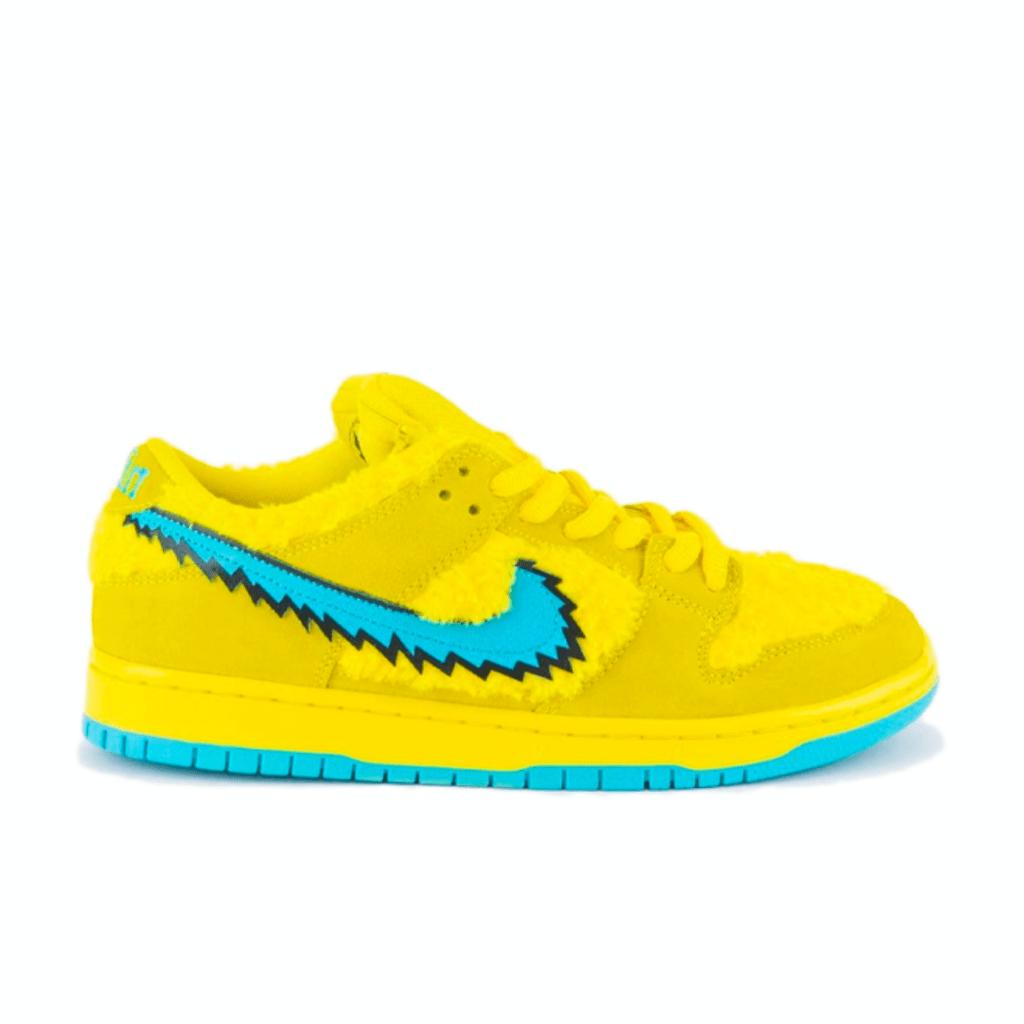 "Grateful Dead x Nike SB Dunk Low ""Yellow"""