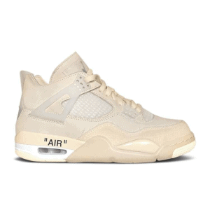 "Off-White x Nike Air Jordan 4 ""Sail"""