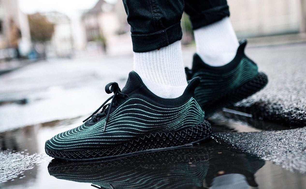 Parley x adidas Ultra Boost 4D Black