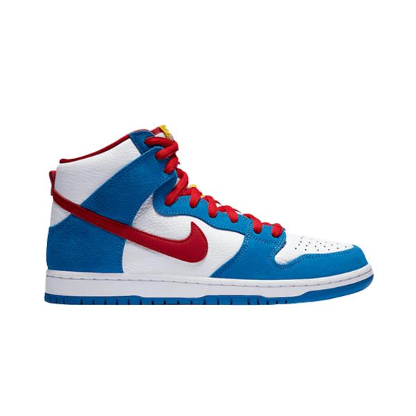 "Nike SB Dunk High ""Doraemon"""