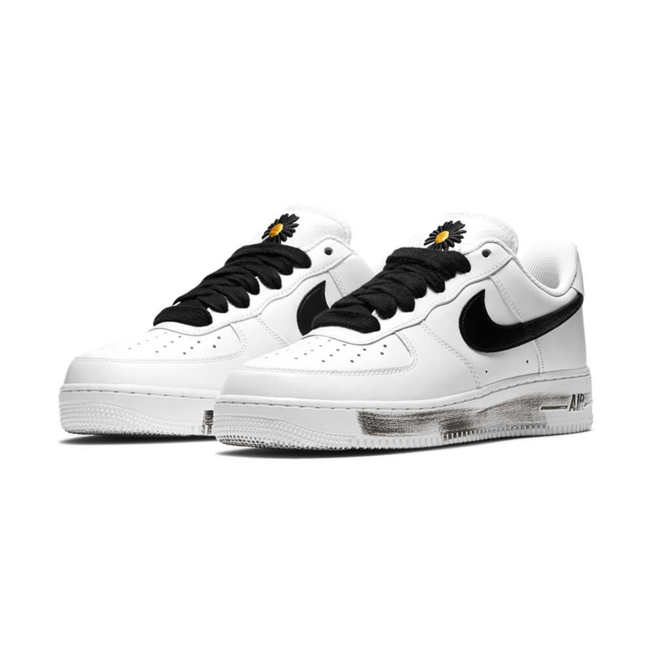 G-Dragon x Nike Air Force 1 Para-noise White-2