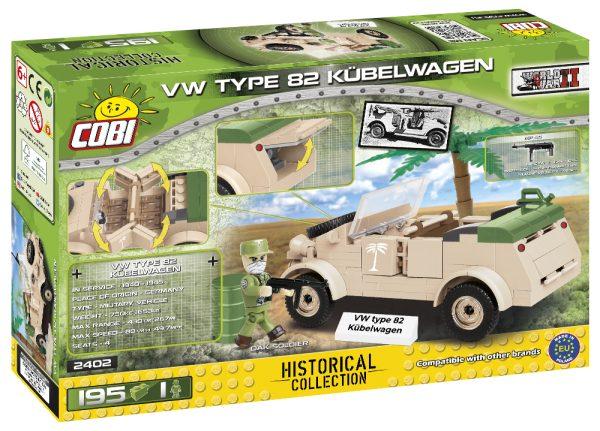 COBI 2402, VW Type 82 Kubelwagen