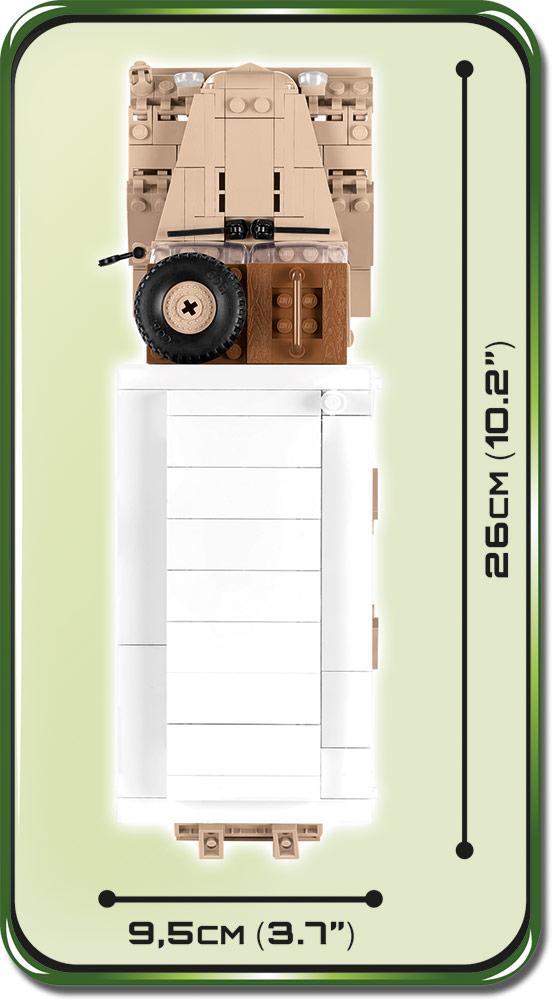 COBI 2518, Ford V3000S Maultier