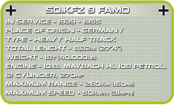 COBI 2522, SK. KFZ 9 Famo