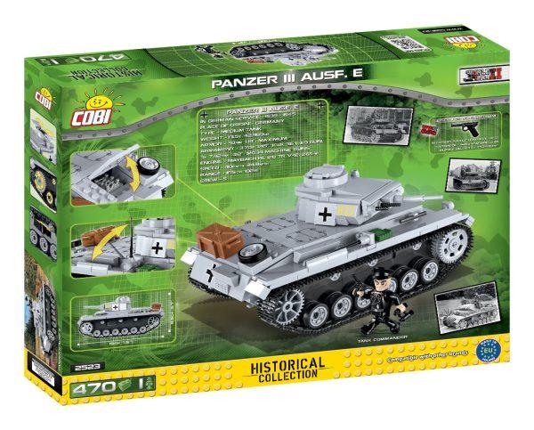 COBI 2523, PZKDPFW III Ausf. E.