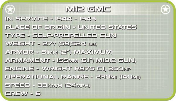 COBI 2531, M12 GMC