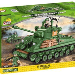 COBI 2533, M4A3 Sherman (easy Eight)