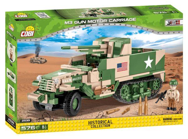 COBI 2535, M3 Gun Motor Carriage GMC