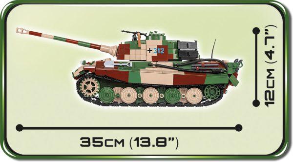 """COBI 2540, Panzerkampfwagen VI Tiger Ausf. B. """"Koningstiger"""""""