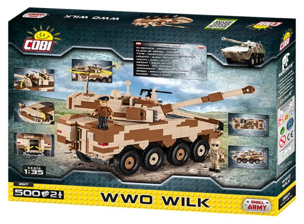 COBI 2617, WWO Wilk