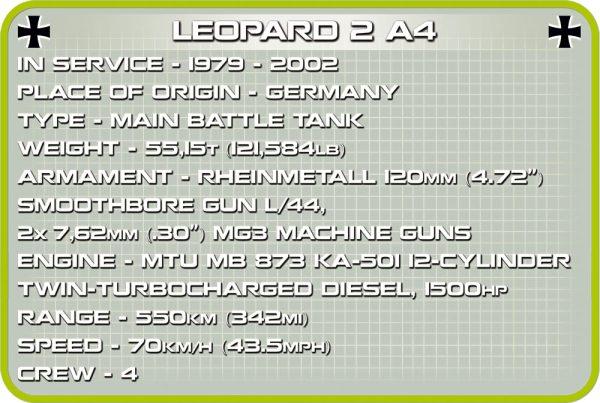 COBI 2618, Leopard 2 A4
