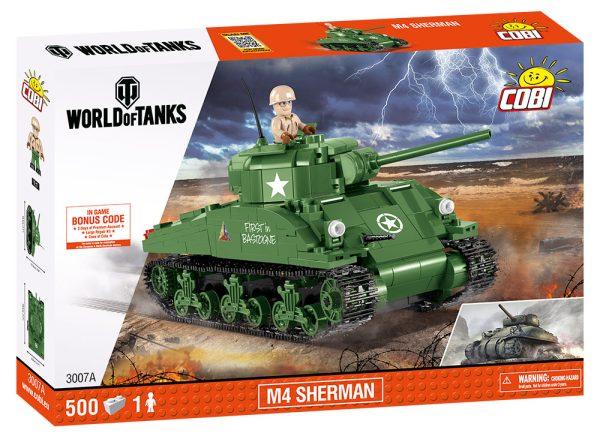 COBI 3007A, WOT M4 Sherman