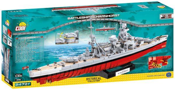 COBI 4818, Battleship Scharnhorst