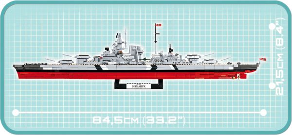 COBI 4819, Battleship Bismarck