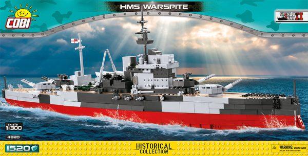 COBI 4820, HMS Warspite queen Elizabeth-class Battleship