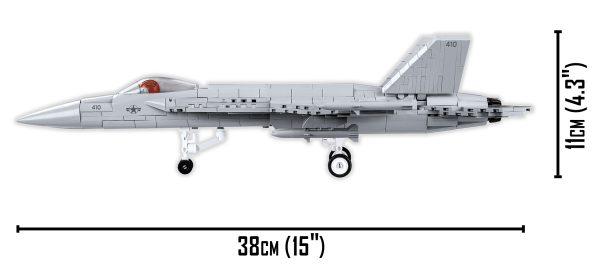 COBI 5804, F/A - 18E Super Horner, scale 1:48