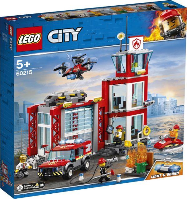 LEGO 60215, Brandweerkazerne