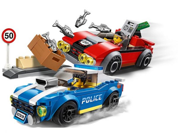 LEGO 60242, Politiearrest op de Snelweg
