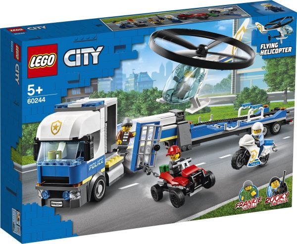 LEGO 60244, Helikoptertransport