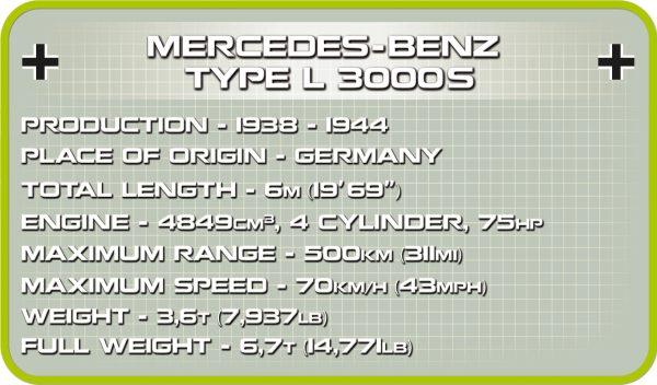COBI 2455A, Mercedes Benz L3000S