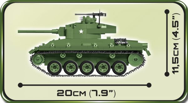 COBI 2543, M24 Chaffee