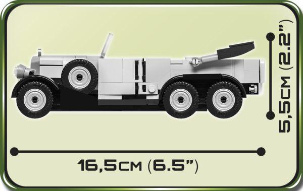 COBI 2409, 1939 Mercedes G4