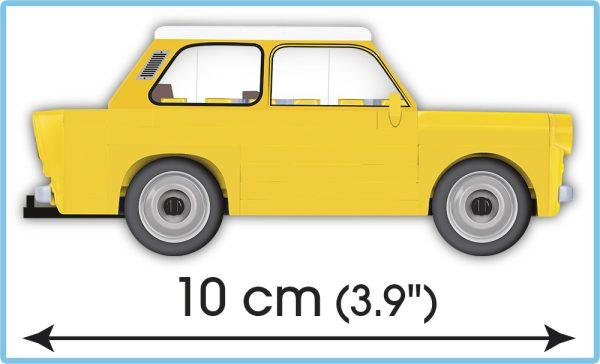 COBI 24590, Trabant 601 + caravan