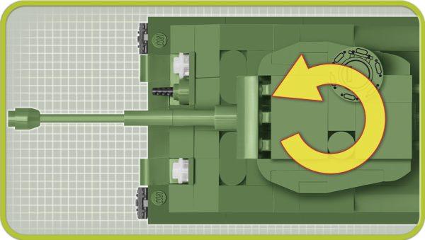 COBI 2705, M4A3E8 Sherman