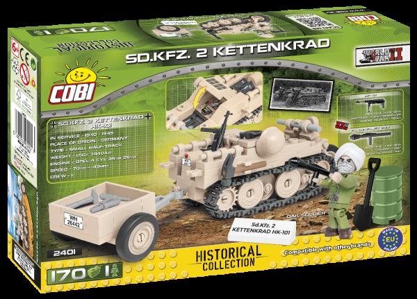 COBI 2401Cobi 2401, , S.D. KFZ 2 Kettenkrad HK-1